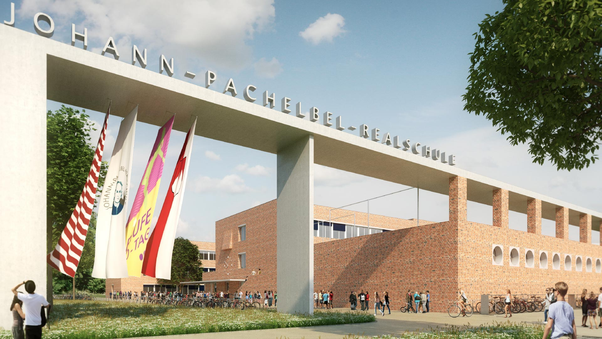 Johann-Pachelbel-Realschule/Fachoberschule II